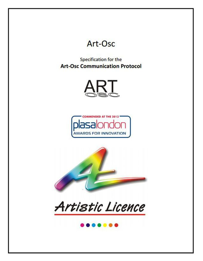 Art-Osc specification document